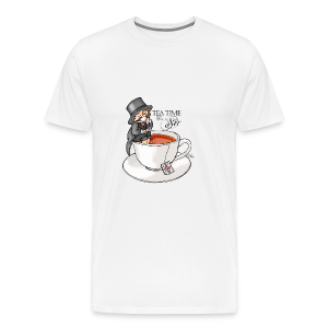 tea time like a Sir with Earl Grey (text) - Männer Premium T-Shirt