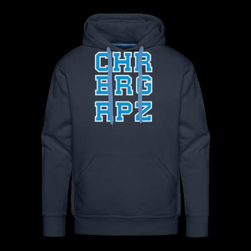 CHRBRG RPZ Teech for ♂ - Sweat-shirt à capuche Premium pour hommes