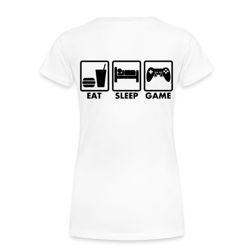 Eat - T-shirt Premium Femme
