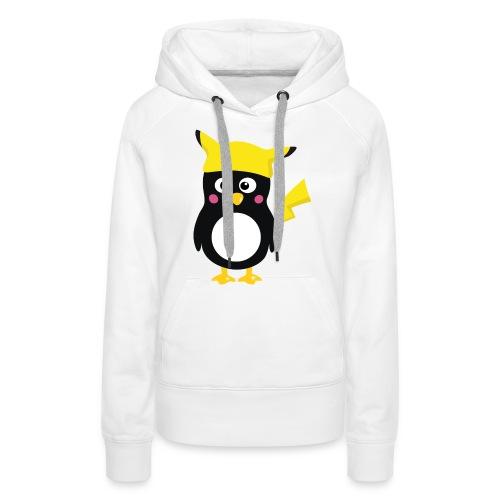 Pika! - Sweat-shirt à capuche Premium pour femmes