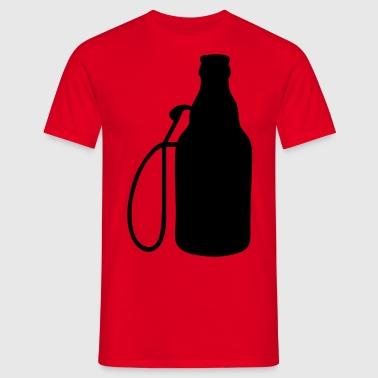 Biertankstelle Schürzen - Männer T-Shirt