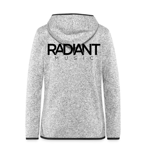 Radiant Hoodie - Dark - Women's Hooded Fleece Jacket