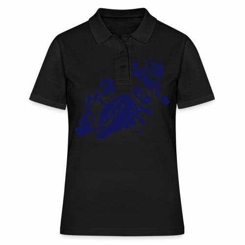 Motorrad - Frauen Polo Shirt