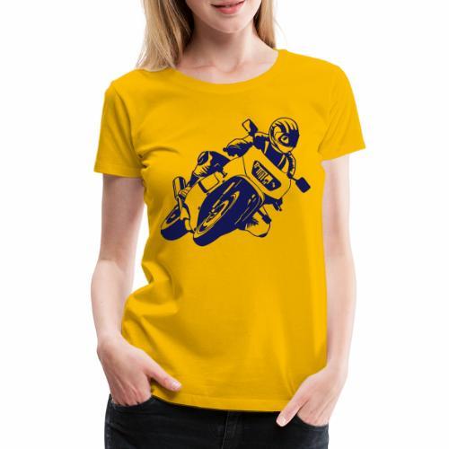 Motorrad - Frauen Premium T-Shirt