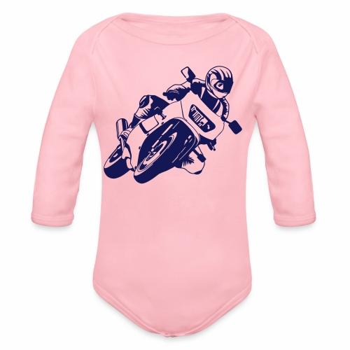 Motorrad - Baby Bio-Langarm-Body