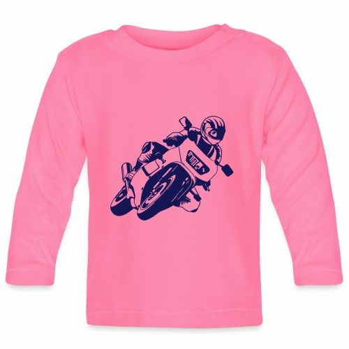Motorrad - Baby Langarmshirt