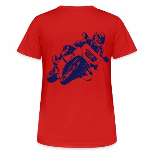 Motorrad - Frauen T-Shirt atmungsaktiv