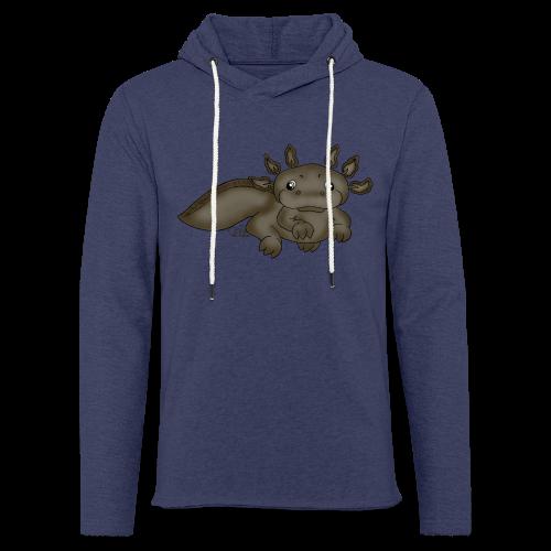 Axill Axolotl - Leichtes Kapuzensweatshirt Unisex