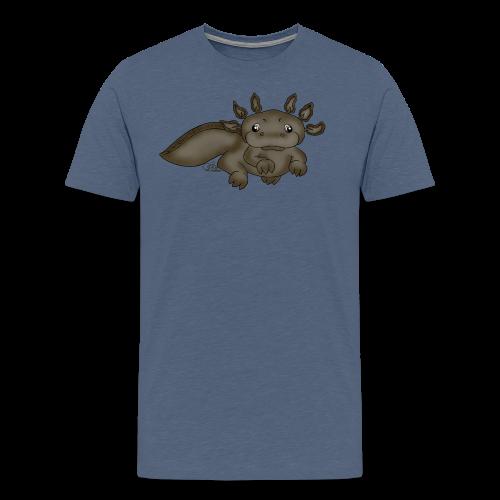 Axill Axolotl - Männer Premium T-Shirt