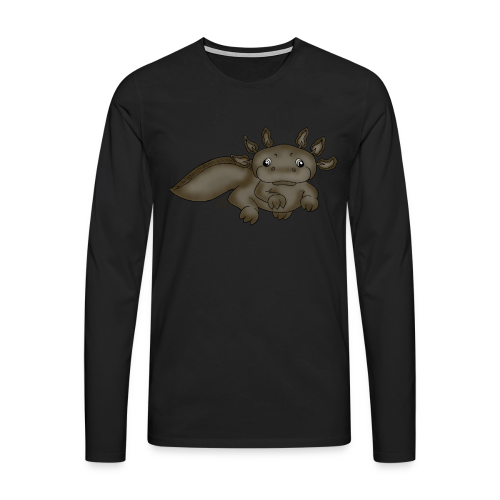 Axill Axolotl - Männer Premium Langarmshirt