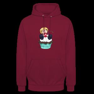 Sweet Cherry Cupcake - Unisex Hoodie