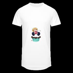 Sweet Cherry Cupcake - Männer Urban Longshirt