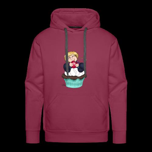 Sweet Cherry Cupcake - Männer Premium Hoodie
