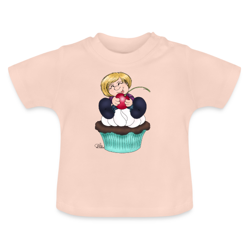 Sweet Cherry Cupcake - Baby T-Shirt