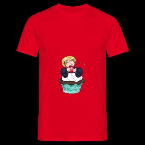 Sweet Cherry Cupcake - Männer T-Shirt