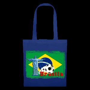 Brasilien Fussball - Stoffbeutel