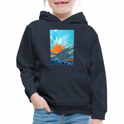 Sonne Wasser - Kinder Premium Hoodie