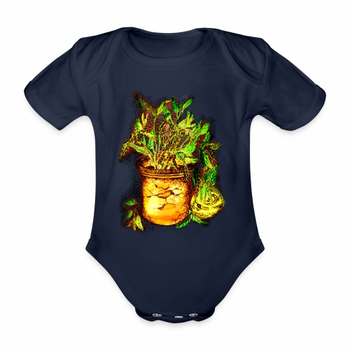 Sellerie - Baby Bio-Kurzarm-Body