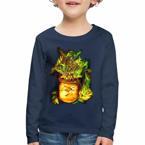 Sellerie - Kinder Premium Langarmshirt