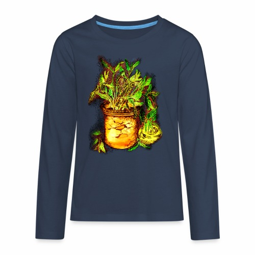 Sellerie - Teenager Premium Langarmshirt