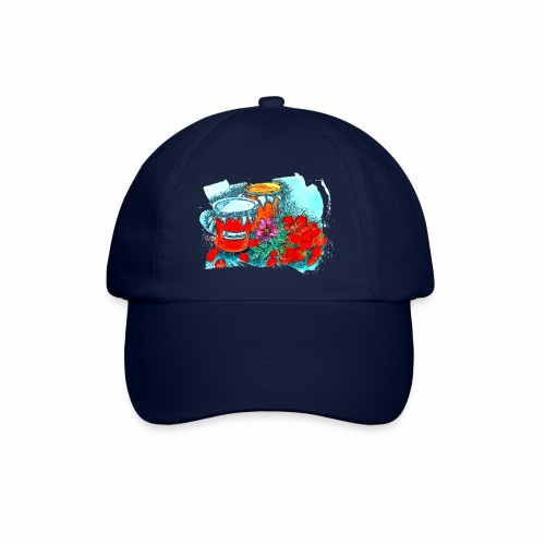 Erdbeeren - Baseballkappe