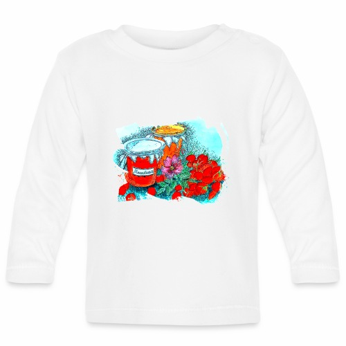 Erdbeeren - Baby Langarmshirt