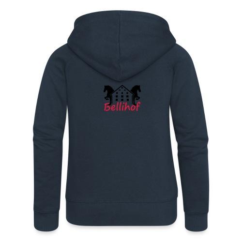 Bellihof Cap rot - Frauen Premium Kapuzenjacke