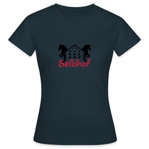 Bellihof Cap rot - Frauen T-Shirt