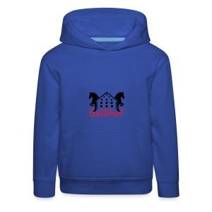 Bellihof Cap rot - Kinder Premium Hoodie