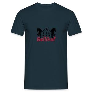 Bellihof Cap rot - Männer T-Shirt