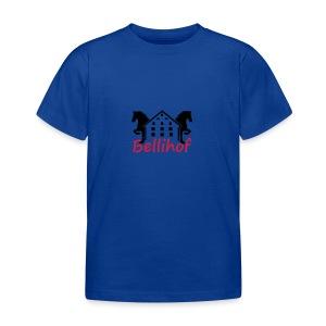 Bellihof Cap rot - Kinder T-Shirt