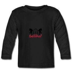 Bellihof Cap rot - Baby Langarmshirt