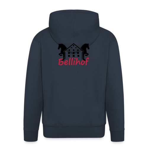 Bellihof Cap rot - Männer Premium Kapuzenjacke
