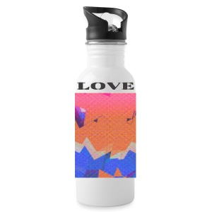 BTI 'Love' Girls T-Shirt - Water Bottle