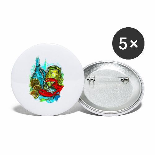 Tasche Juliane - Buttons klein 25 mm (5er Pack)