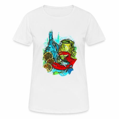 Tasche Juliane - Frauen T-Shirt atmungsaktiv