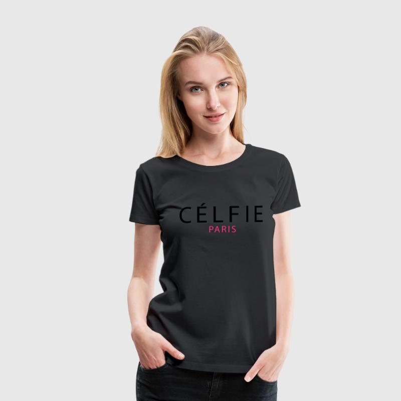 Célfie Paris T-Shirts - Frauen Premium T-Shirt