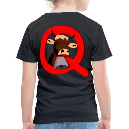 Q=Kuh - Kinder Premium T-Shirt
