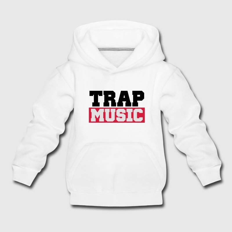 TRAP MUSIC - BASS PARTY Felpe - Felpa con cappuccio Premium per bambini