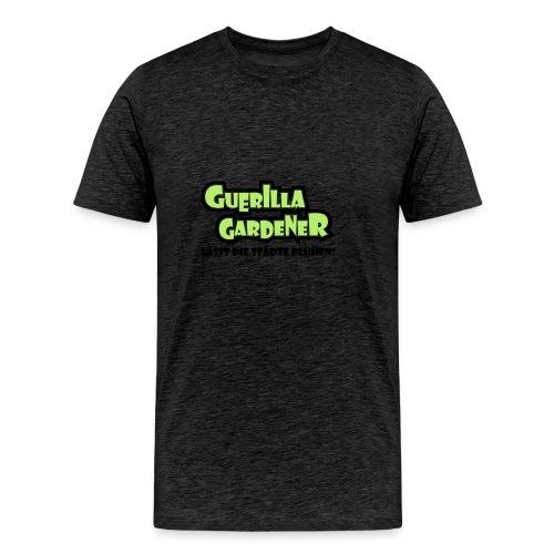 Guerilla Gardener Stofftasche - Männer Premium T-Shirt