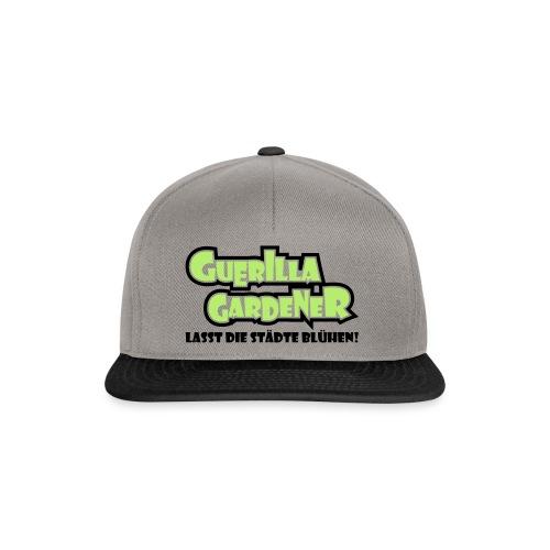 Guerilla Gardener Stofftasche - Snapback Cap