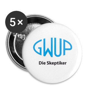 Themobecher GWUP-Logo - Buttons klein 25 mm