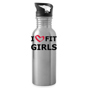 I Love Fit Girls - Trinkflasche