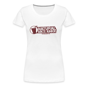 Natural Juice Junkie Apron - Women's Premium T-Shirt
