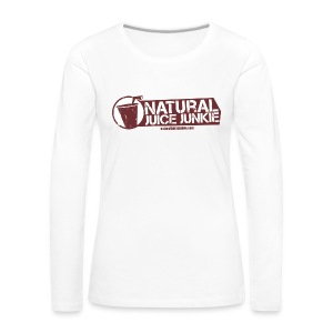 Natural Juice Junkie Apron - Women's Premium Longsleeve Shirt