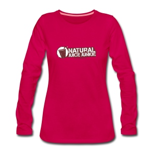 Natural Juice Junkie - Women's ORGANIC Cotton Tee - Women's Premium Longsleeve Shirt