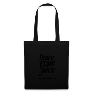 Peace Love Juice Recycled Bag - Tote Bag
