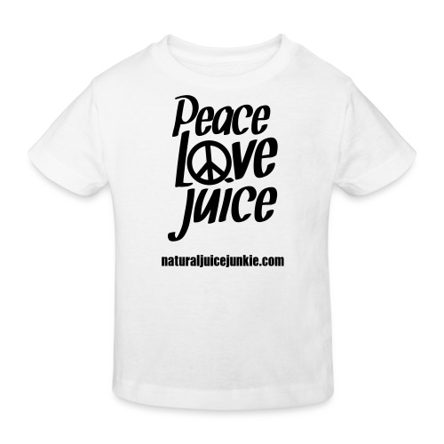 Peace Love Juice - Women's Long Sleeve - Kids' Organic T-shirt