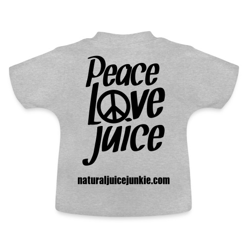 Peace Love Juice - Women's Long Sleeve - Baby T-Shirt