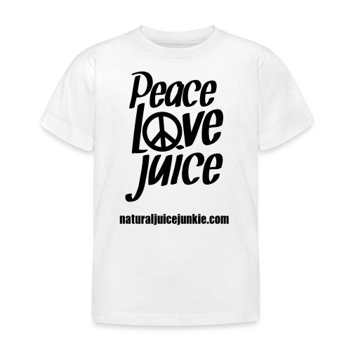 Peace Love Juice - Women's Long Sleeve - Kids' T-Shirt
